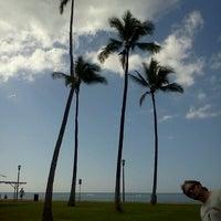 Photo taken at Kapiolani Regional Park by Stacey B. on 12/29/2012