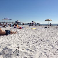 Photo taken at Fort Myers Beach by Remco v. on 11/25/2012