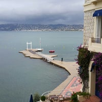 Photo taken at Hôtel Belles Rives by Kiwhan S. on 10/14/2014