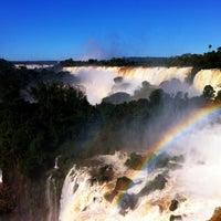 Photo taken at Iguazu Falls by Santiago C. on 7/2/2013