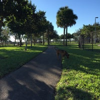Photo taken at Canine Cove at South County Regional Park by Judy B. on 1/4/2016