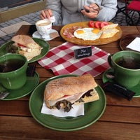 Photo taken at Bocadillo Café by Konstantin M. on 10/12/2013