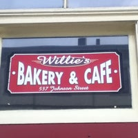 Photo taken at Willie's Bakery & Cafe by Kate B. on 5/30/2013