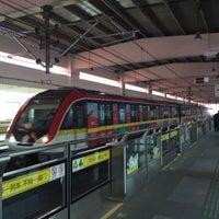 Photo taken at W. Yan'an Rd. Metro Stn. by Shunitsu M. on 3/27/2016