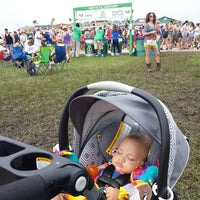 Photo taken at New Orleans Jazz and Heritage Festival by Megan A. on 4/26/2015