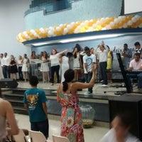 Photo taken at Igreja Batista Da Paz Barreiro by Marcelo Silva F. on 1/1/2015