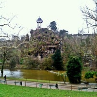 Photo taken at Buttes Chaumont Park by Taco on 1/29/2013