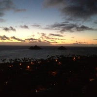 Photo taken at Lanikai Pillboxes Hike by Hawaii J. on 5/2/2013