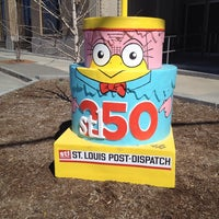 Photo taken at St. Louis Post-Dispatch by Diane W. on 3/23/2014