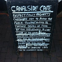 Photo taken at Canalside Cafe by Paul W. on 11/9/2013