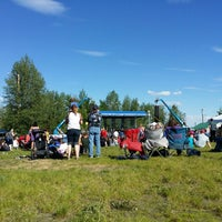 Photo taken at Tanana Valley State Fair Assoc by Lara 💚 P. on 6/8/2014