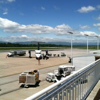 Photo taken at Charlottesville-Albemarle Airport (CHO) by Larry G. on 5/24/2013