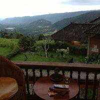 Photo taken at Puri Lumbung Cottages by Gilles M. on 6/11/2013