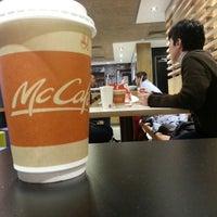 Photo taken at McCafé by nik a. on 3/24/2013