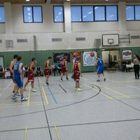 Photo taken at Universitätssporthalle by Nico D. on 3/9/2013