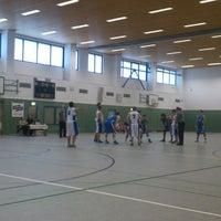 Photo taken at Universitätssporthalle by Nico D. on 10/26/2013