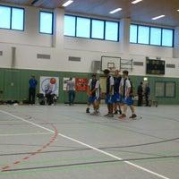 Photo taken at Universitätssporthalle by Nico D. on 9/14/2013