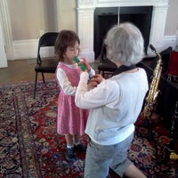 Photo taken at Brookline Music School by Rory d. on 10/21/2012