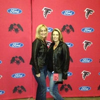 Photo taken at Atlanta Falcons Owners Club by Rob D. on 11/18/2012