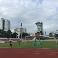 Photo taken at Thephasadin Stadium by Pawoot (Pom) P. on 7/31/2016