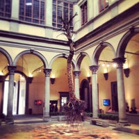 Photo taken at Palazzo Strozzi by Dario P. on 5/1/2013