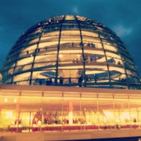 Photo taken at Reichstag Dome by maurizio c. on 9/14/2012