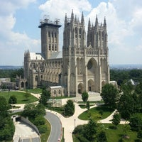Photo taken at Washington National Cathedral by Ivan A. on 7/17/2013