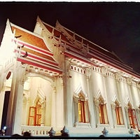 Photo taken at Wat Chonprathan Rangsarit by James @. on 7/22/2013