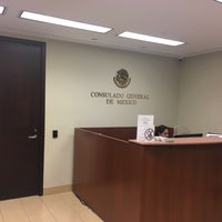 Photo taken at Mexican Consulate by Martin M. on 10/25/2016