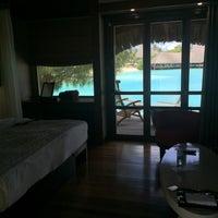 Photo taken at Le Méridien Bora Bora by hirtanak on 1/3/2017