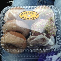 Photo taken at Mighty-O Donuts by Brittany on 5/26/2013