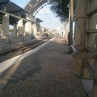 Photo taken at Downtown Garland Station (DART Rail) by Steven G. on 10/24/2012
