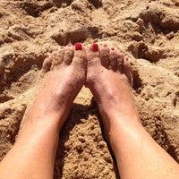 Photo taken at Praia de Espiñeiro by Marta on 8/30/2014