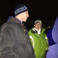 Photo taken at Haunted Hayrides of Greater Rochester by Rob M. on 10/14/2012