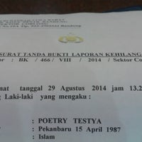 Photo taken at Bank Mandiri by Poetry T. on 9/3/2014