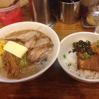 Photo taken at つけ麺・ラーメン れんじや by Junichi A. on 1/28/2014