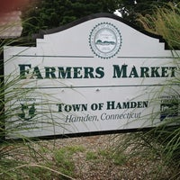 Photo taken at Hamden - Downtown Farmers' Market by Karen K. on 7/26/2013