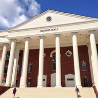 Photo taken at DeMoss Hall by Carter B. on 8/13/2014