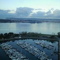 Photo taken at Marriott Marquis San Diego Marina by DiningOutSD on 11/17/2012
