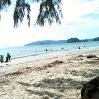 Photo taken at Ao Nang Beach by มะปราง ศ. on 1/1/2013
