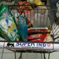Photo taken at Super Indo by Marika A. on 2/3/2013