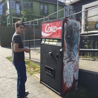 Photo taken at Mystery Soda Machine by Mike D. on 5/31/2015