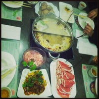 Photo taken at Little Sheep Mongolian Hot Pot by Serena T. on 3/31/2013