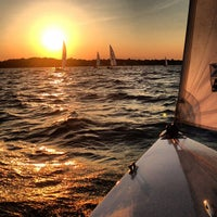 Photo taken at Larchmont Yacht Club by Paul M. on 6/21/2013