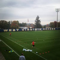 Photo taken at Dick Dlesk Soccer Stadium by Trey W. on 10/10/2014