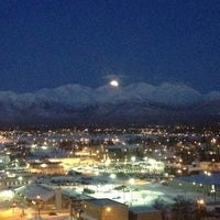 Photo taken at Sheraton Anchorage Hotel & Spa by Kyle R. on 3/27/2013