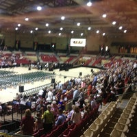 Photo taken at Show Place Arena by Joe C. on 6/5/2013