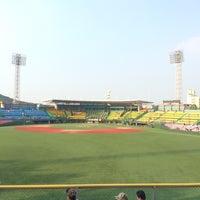 Photo taken at Cheongju Baseball Stadium by sugul80 on 8/16/2016