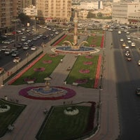 Photo taken at Sharjah Clock Tower by अक्षय श. on 2/25/2013