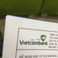 Photo taken at Vietcombank Phu Tho by Tuấn L. on 1/19/2017